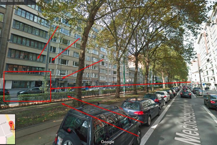 Kantoorruimte: 202 Mechelse steenweg in Antwerpen