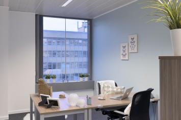 Flexibele kantoorruimte Marcel Broodthaersplein 8, Brussel